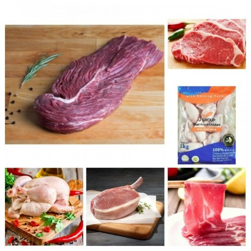 牛雞豬(健康)精選超值套餐