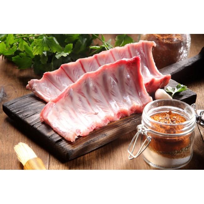 西班牙100%純種杜洛黑豚豬肋排