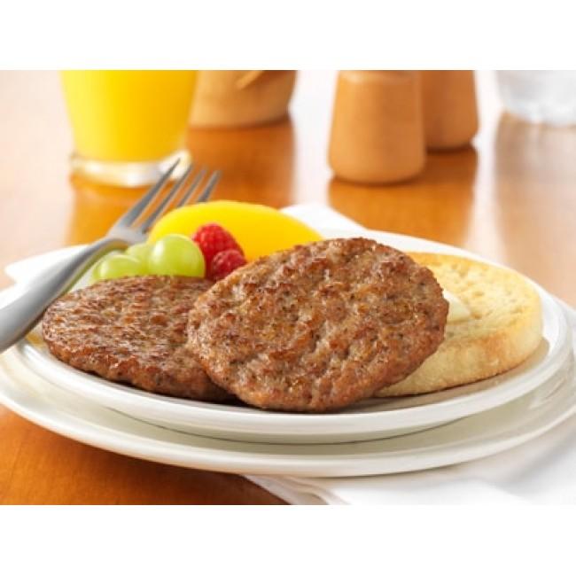 美國豬柳漢堡扒