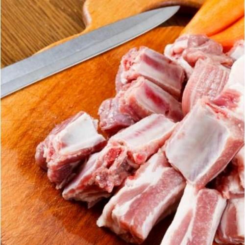 西班牙100%純種杜洛黑豚排骨粒