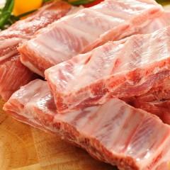西班牙100%純種杜洛黑豚金沙骨