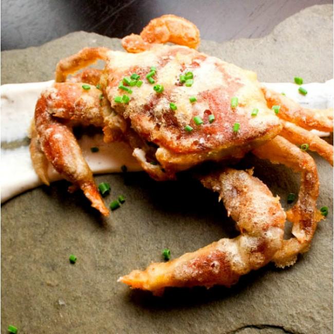原隻軟殼蟹